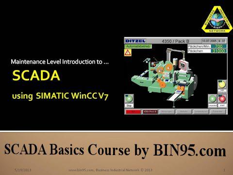 SCADA Basics course using Siemens Automation