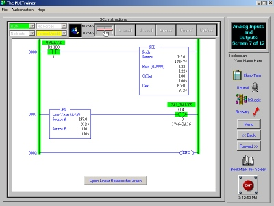 AB PLC Training Simulator